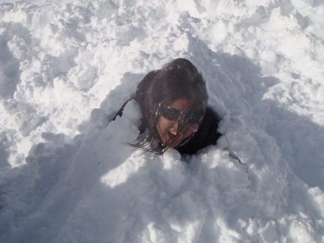 Buried alive...